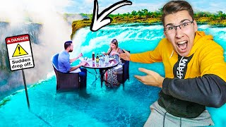 OVO JE RESTORAN NA VODOPADU!! *najopasniji restorani*
