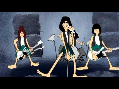 "Ramones Cartoon ""Ramonestones Listen to My Heart"""