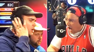 """People Just Do Nothing"" cast join Charlie Sloth in the studio"