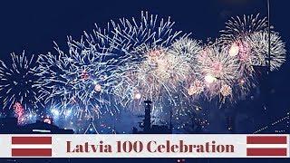 Latvia 100 Celebration! | Riga, Latvia Travel Vlog
