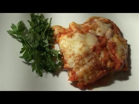 How To Make Homemade Baked Cannelloni - YouTube