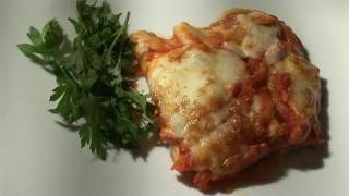 How To Make Homemade Baked Cannelloni