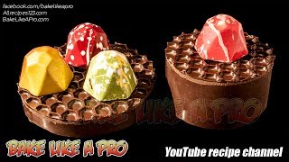 EASY Chocolate Honeycomb Display Stands Tutorial