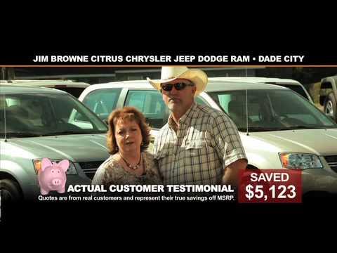 Save Big At Jim Browne Citrus Chrysler Jeep Dodge Ram!