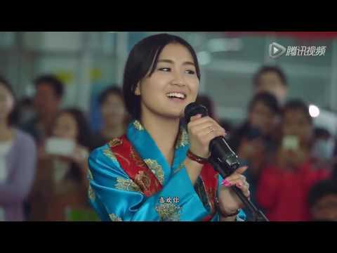 Tibet Singer sings in Tibetan language at Qinghai University - loving you by 更桑卓玛