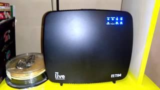 Novo Modem Sagemcom F@st 5360 Live Tim