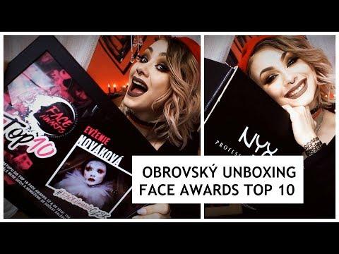 OBROVSKÝ UNBOXING    FACE AWARDS TOP10   