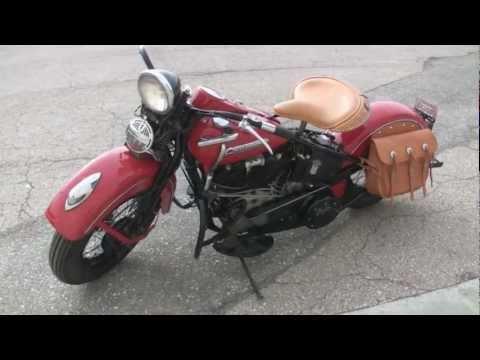"1947 Harley Davidson EL Knucklehead for Sale ""Perfect Restoration"""