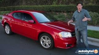 видео Тест-драйв Dodge Avenger