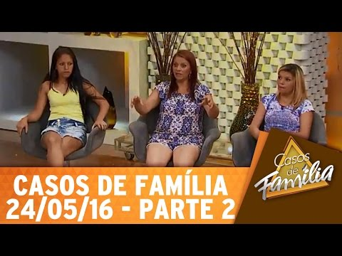 Casos de Família (24/05/16) - Mãe não é pra isso? Então vá cuidar dos seus netos! - Parte 2