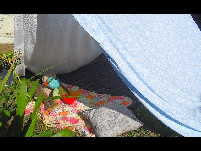 אדיר בניית אוהל ביתי משמיכות – פעילות עם ילדים | הזמנה ליצירה MH-16