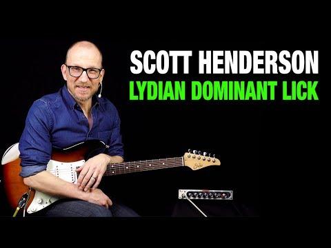 scott-henderson-lydian-dominant-lick