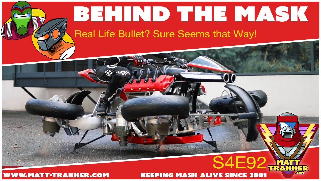 Real Life Bullet? Sure Seems that Way! - S4E92