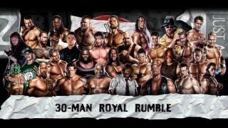 WWE 13 | Royal Rumble