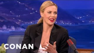 Charlize Theron's Annoying Turkish Eclipse Adventure - CONAN on TBS