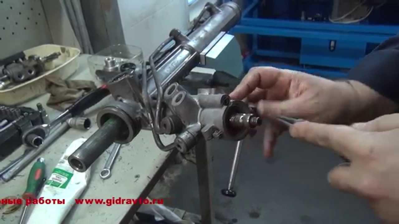 Ремонт рулевой рейки на BMW X5 Ремонт рулевой рейки на авто BMW X5 в СПБ
