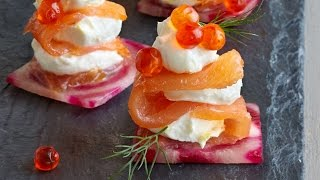 How to Make Smoked Salmon Bites | Wow! | Cooking Light