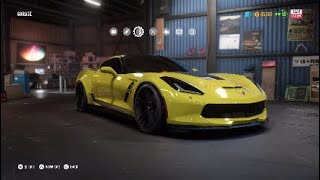 NFS Payback: Chevrolet Corvette GT [Race Build]