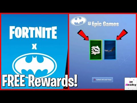 Claim These FREE Batman Rewards! (Fortnite X Batman Official Event Items)