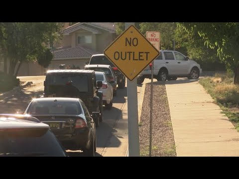 Parents frustrated over loss of right turn into Desert Ridge Middle School
