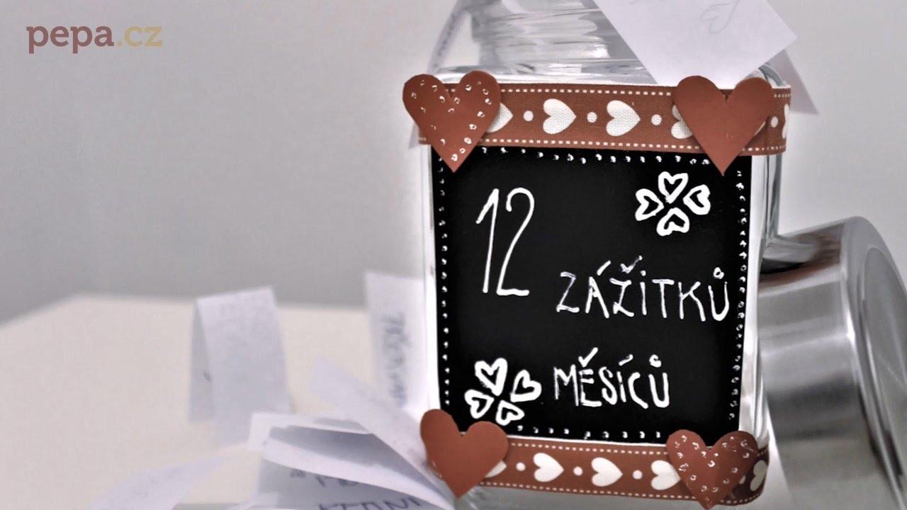 7e010024852 DIY Dóza 12 zážitků - originální dárek pro svoji polovičku - YouTube