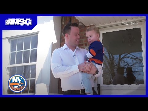 A Day In The Life Of Isles Play-by-Play Announcer Brendan Burke   New York Islanders