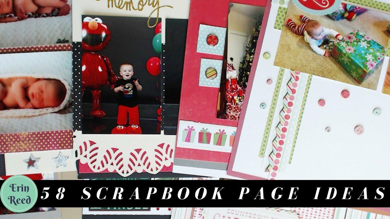 Scrapbook ideas calendar pages - 58 Baby Boy Scrapbook Page Ideas