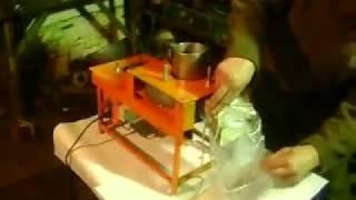 Самодельная машина для очистки кедрового ореха от скорлупы