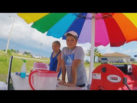 Lance Houston - Kids Host Lemonade Stand to Raise Money for Dad With Mystery Illness