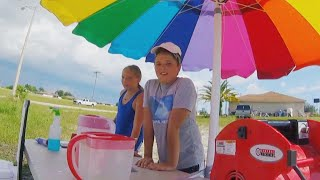 Kids Sell Lemonade to Find Cure for Dad's Mystery Illness