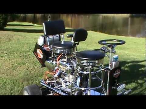 Harley 883 Barstool Racer Youtube