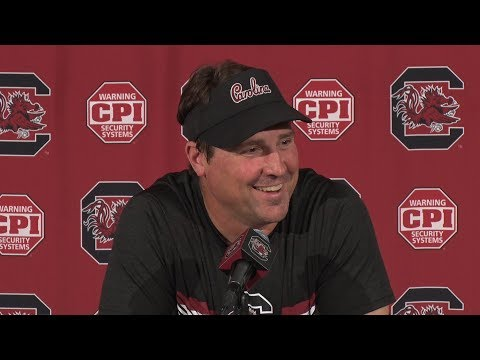 Will Muschamp News Conference — 8/13/18