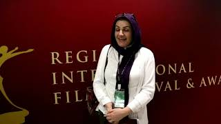 RIFFA 2018  Director of the feature film Endless, Maryam Zahirimehr,Regina International film festiv