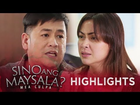 Fina faces the suspect for her mother's passing | Sino Ang Maysala