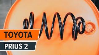 Wie Bremsbacken Handbremse TOYOTA PRIUS Hatchback (NHW20_) wechseln - Online-Video kostenlos