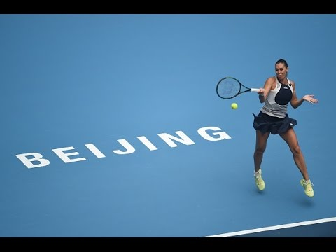 2015 China Open First Round | Flavia Pennetta Vs Xinyun Han | WTA Highlights