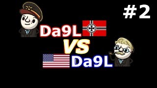 HoI4 - MtG - Da9L Super Germany vs Da9L USA - Ragnarok mod! - Part 2