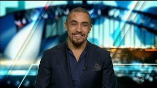 "Robert Whittaker NEW UFC Champ ""Kiwi or Aussie""? Australian Tv Interview July 10, 2017"