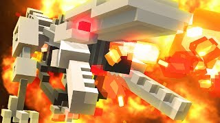 FIRE BREATHING ROBOT DINOSAURS - Clone Drone in the Danger Zone Part 7 | Pungence