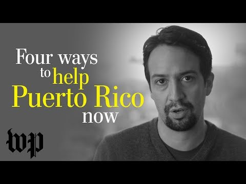 Opinion | Lin-Manuel Miranda to Congress: You have the power to help Puerto Rico