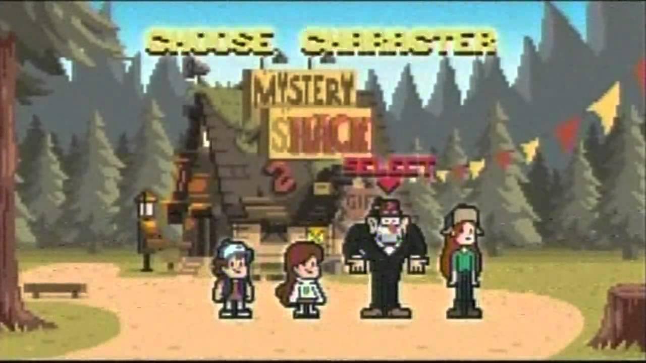 Gravity Falls Mystery Shack Wallpaper Gravity Falls Momento De Creditos 10 Youtube