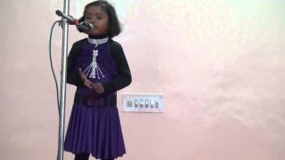 Poem 'Ten Little Fingers' by Janhavi - Hanuman Nagar Vikas Samiti - 26 January 2015 -