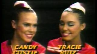 Olympics - 1984 Los Angeles - Synchronized Swimming Doubles - USA Candy Costie & Tracie Ruiz