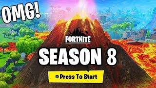 🔴 SEASON 8 FORTNITE! Neue MAP und neuer BATTLE PASS 100! 🔴 Live ITA
