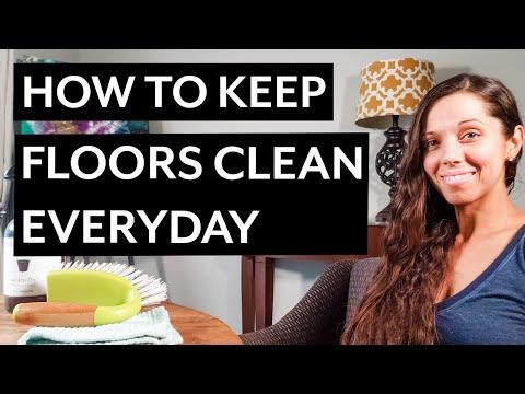 How to Keep Floors Clean - Tile, Hardwood