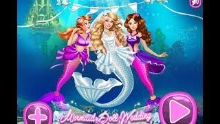 свадьба русалочки /МУЛЬТФИЛЬМЫ ВИДЕО ДЛЯ ДЕТЕЙ/Mermaid Doll Wedding