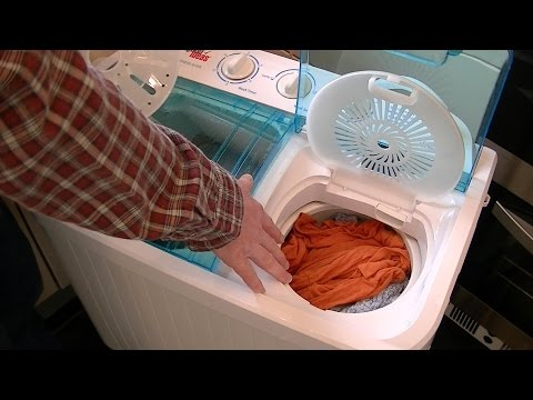 How to Use The Good Ideas Twin Tub Washing Machine Streetwize Accessories Portawash Plus