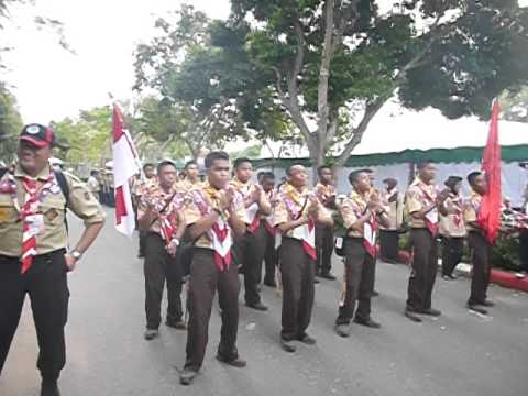 YEL YEL KREATIF PRAMUKA GONTOR DI ASEAN JAMBORE THAILAND