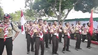 YEL YEL KREATIF PRAMUKA GONTOR DI ASEAN JAMBORE THAILAND 2013