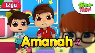 Download Lagu Omar & Hana | Lagu Kanak Kanak Islam | Amanah mp3